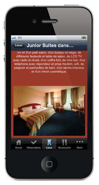 Grand Hotel des Bains | App