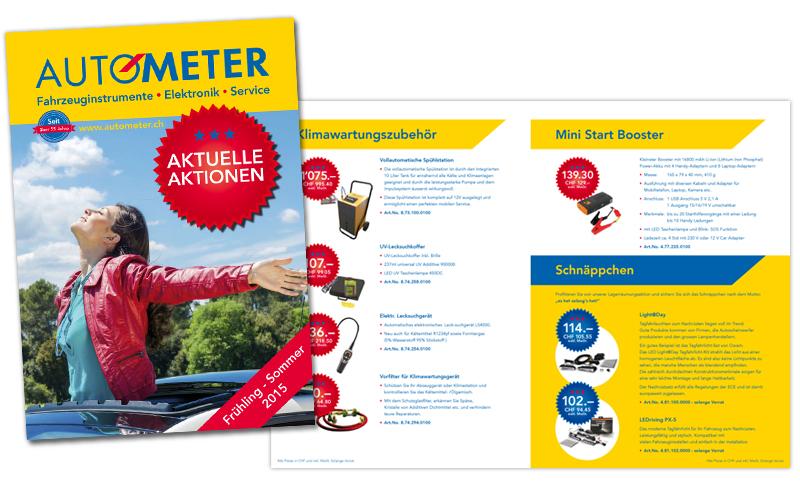 AUTOMETER Aktionen-Broschüre