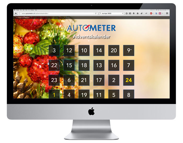 Autometer | Adventskalender