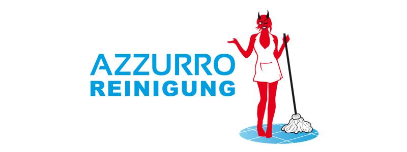 Azzurro Reinigung | Logodesign