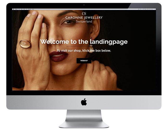 Webdesign der Landingpage durch Egli-Werbung