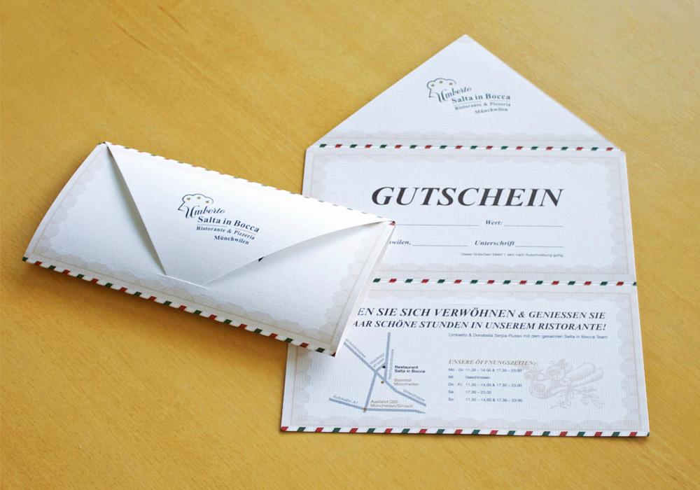 SaltaInBocca Gutschein