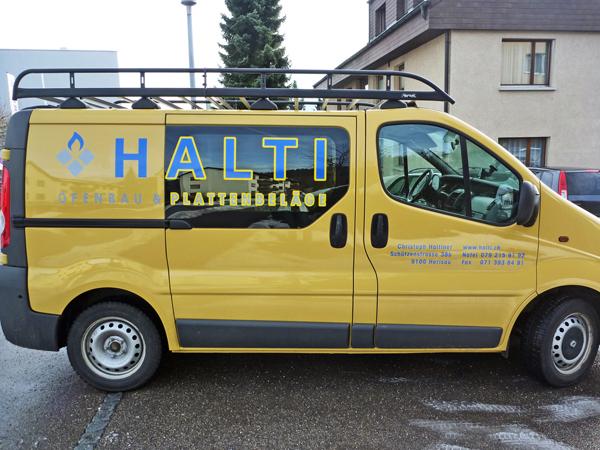 Halti | Fahrzeugbeschriftung | Beschriftung