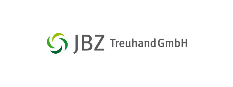 Logodesign für JBZ-Treuhand GmbH durch Egli-Werbung