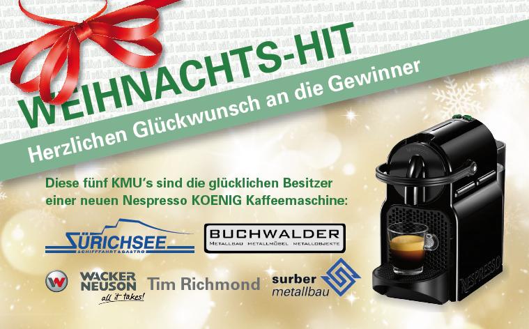 Design des Newsletters für Küwi AG durch Egli-Werbung