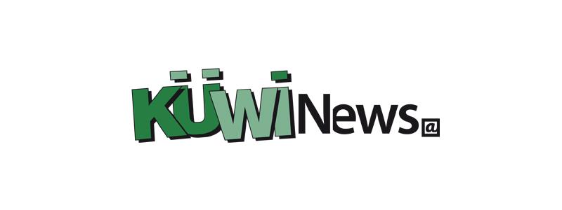 Logodesign für den Küwi-Newsletter durch Egli-Werbung