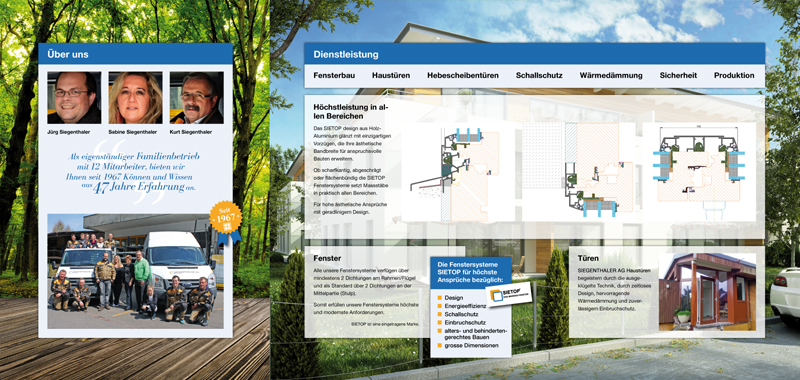 Siegenthaler AG Flyer Seite 2