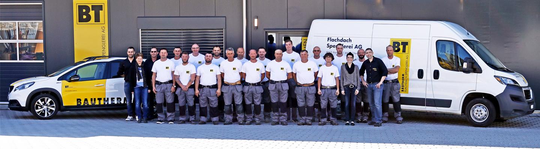 Fotografie für die Bautherm Flachdach AG durch Egli-Werbung