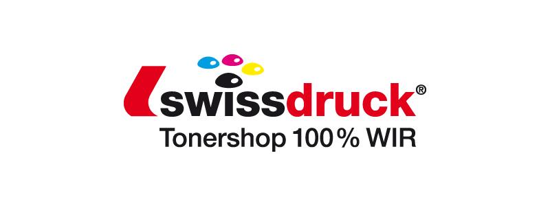 Logodesign für die Swissdruck durch Egli-Werbung
