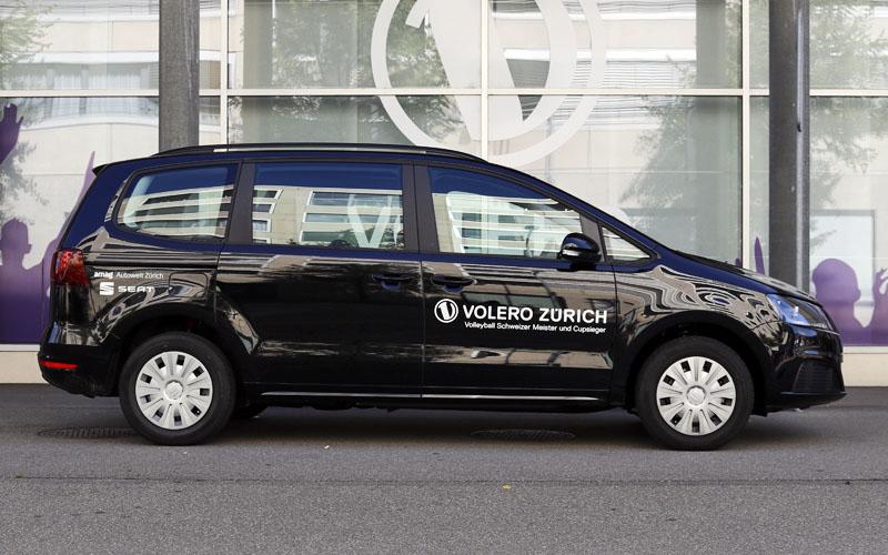 Realisation der Fahrzeugbeschriftung durch Egli-Werbung