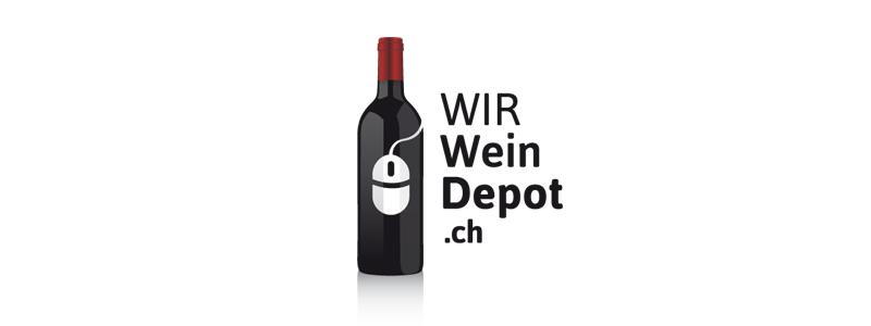 WIR Wein Depot Logodesign