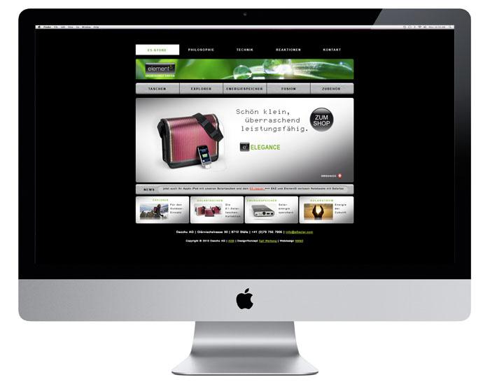 Element 5 Webdesign | e5solar.com/de