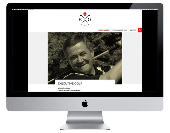Executive Golf Webdesign | executivegolf.ch