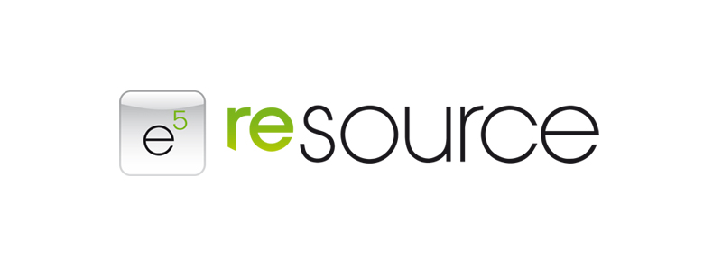 e5 resource | Logodesign